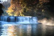 Autumn Morning at Hooker Falls