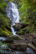 Eastatoe Falls near Rosman, NC