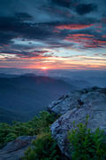 Craggy Gardens Sunset