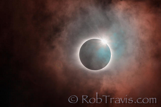 Diamond Ring Abstract - 2017 Solar Eclipse