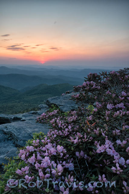 Before Sunrise ll, Hawksbill Mountain. Linville Gorge