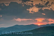 Sunset ll Little Table Rock, Linville Gorge