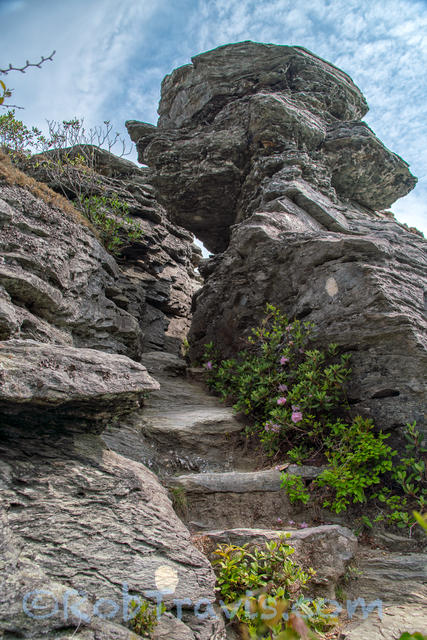 Linville Gorge - Up and Out