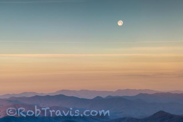 Parkway Morning Moon