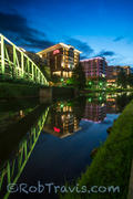 Pause for Reflection - Eugenia Duke Bridge, River Place in Greenville, SC
