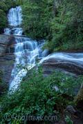 Connestee Falls, Vertical