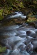 Textured Water...Jones Gap State Park