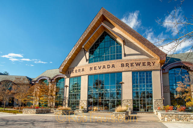 Sierra Nevada Brewing, Mills River, NC - Kettle Room