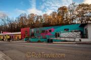 River Arts District in Asheville - Pink Dog