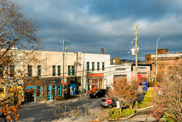River Arts District in Asheville - Gallery Street