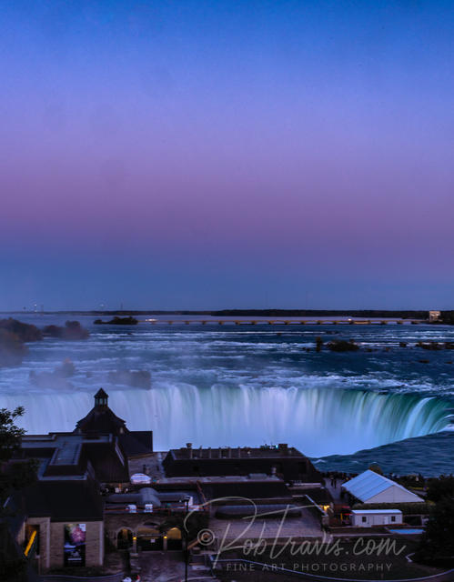 Horseshoe Falls with Alpen Glow ll _DSC0045