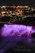 American Falls at night from Skylon Tower _DSC0085