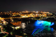 American Falls at night from Skylon Tower _DSC0097