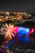 American Falls with Fireworks lll _DSC0121