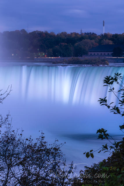 Horseshoe Falls in Twilight Blue _DSC0550