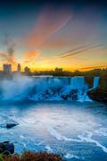American Falls Morning _DSC0593