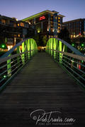 Eugenia Duke pedestrian bridge, vertical
