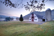 Shoal Falls Farm Autumn Morning