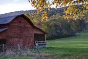 Autumn Barn near Mills River