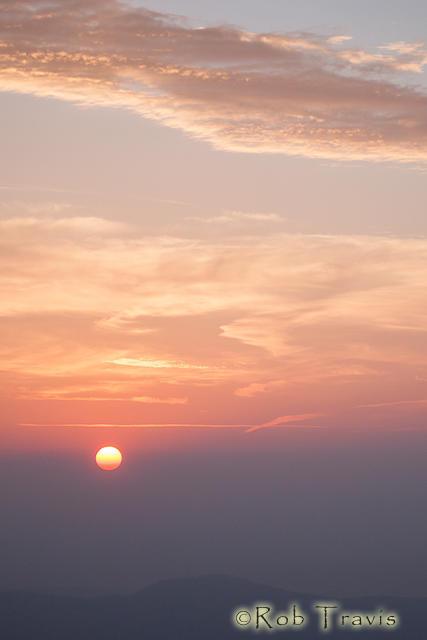 Sunrise on Black Balsam