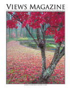 Cover, September 2012 - My image of Japanese Maple in Fall colors graces the cover