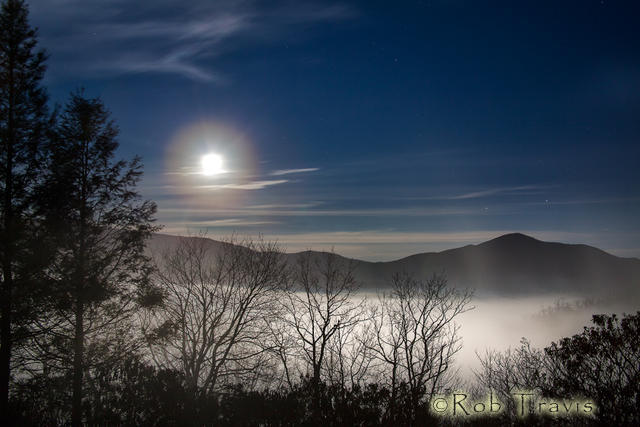 Full Moon over Misty Valley