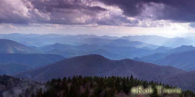 Cloudy Vista - Panorama