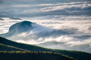 High and Mighty Looking Glass Rock in Pisgah National Forest