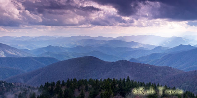 Cowee Mountain Layers