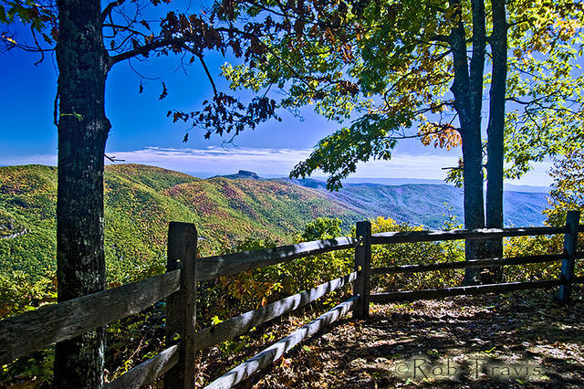 Fall Fence at Table Rock