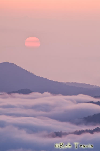 Sea of Clouds at Sunrise 2