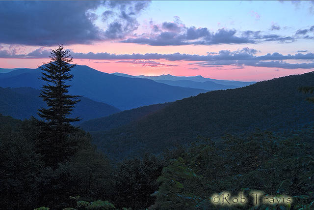 Cold Mountain Sunset