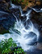 Looking Down on Falls on Shoal Creek