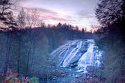 High Falls at Dawn: DuPont State Forest