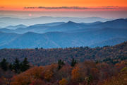 Sunset on the Blue Ridge