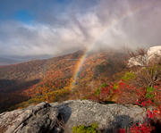 Rainbow on Rough Ridge