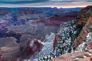 Grand Canyon Snow