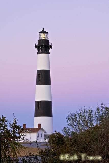 Bodie Island Lighthouse after Sunset