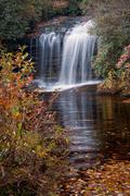 Schoolhouse Falls in Autumn