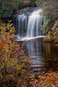 Schoolhouse Falls in Autumn