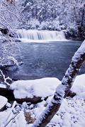 Hooker Falls in Winter 1