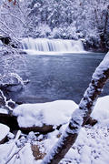 Hooker Falls in Winter 1