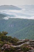 Atop Hawksbill Mountain