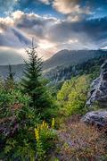 Mountain Light, Blue Ridge Parkway