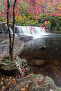 Hooker Falls in Fall, DuPont State Forest