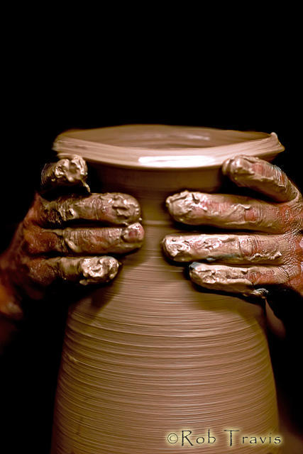 Creation at the Potter's Wheel