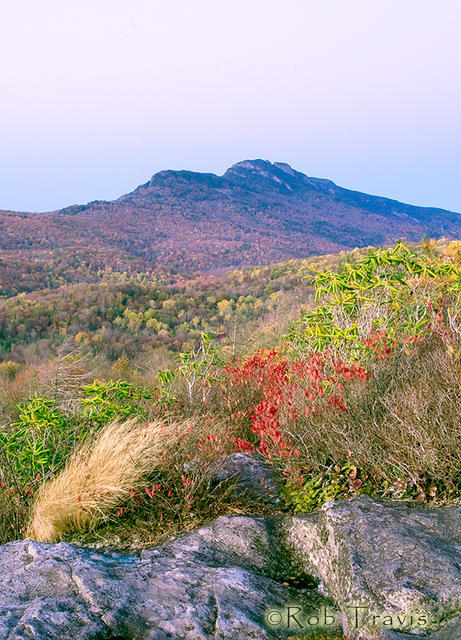 Grandfather Mountain after Sunset