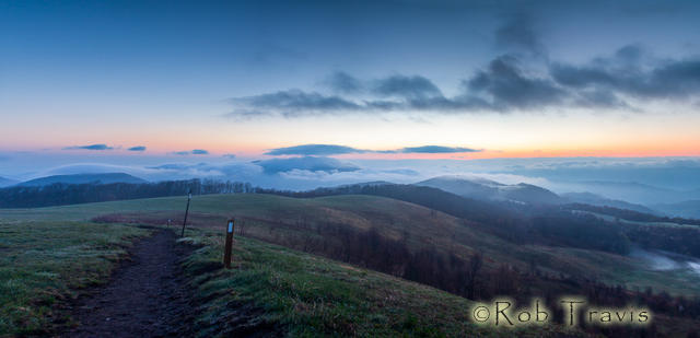 Atmospheric Morning on Max Patch