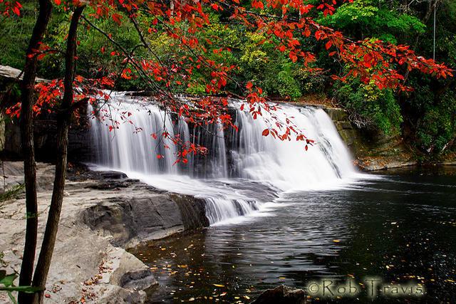 Hooker Falls in Autumn