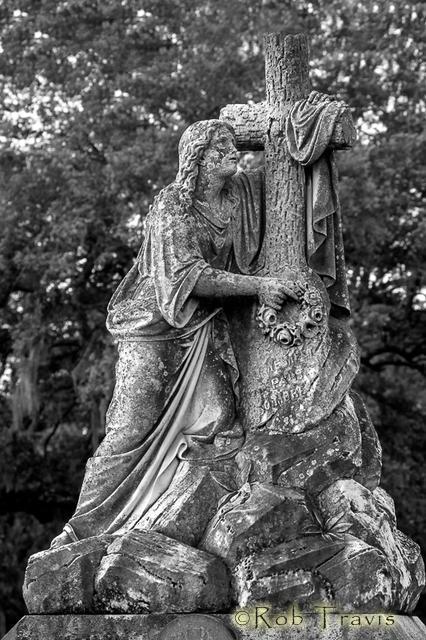 Magnolia Cemetery. Very expressive.